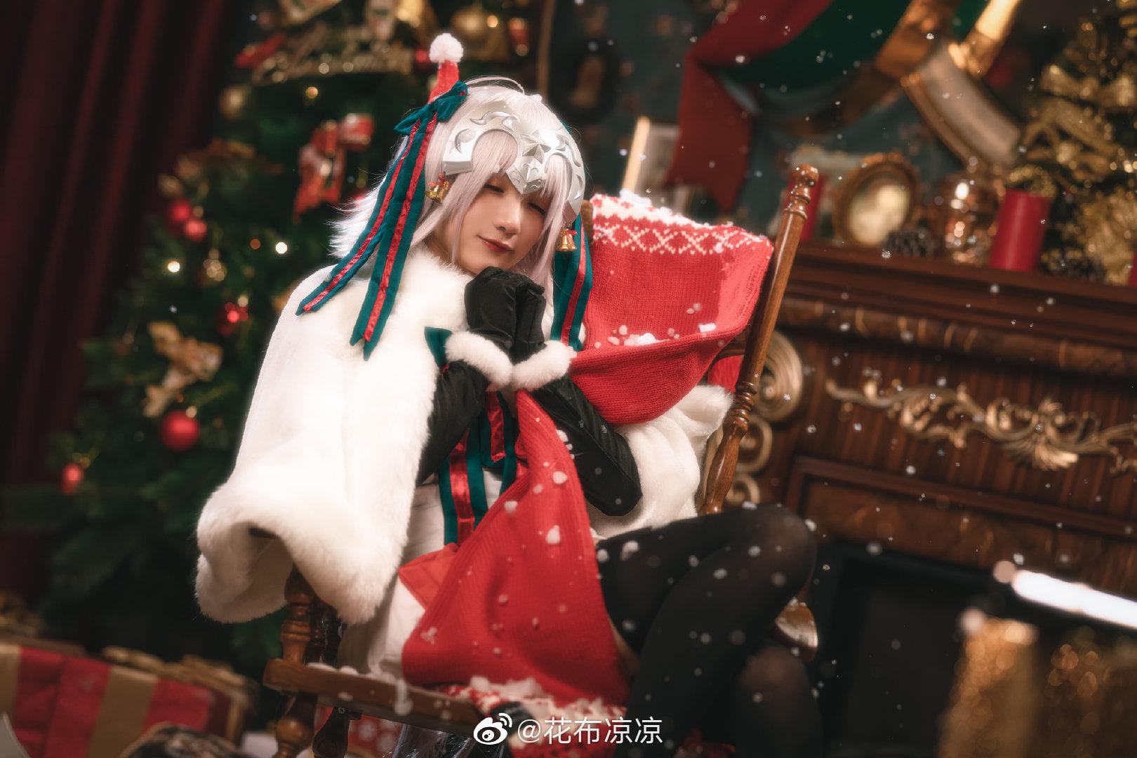 FGO   贞德   圣诞   @花布凉凉 (9P)-第1张