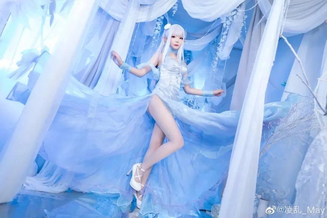 《Re:从零开始的异世界生活》爱蜜莉雅Cosplay【CN:凌乱_May】 (9P)-第2张