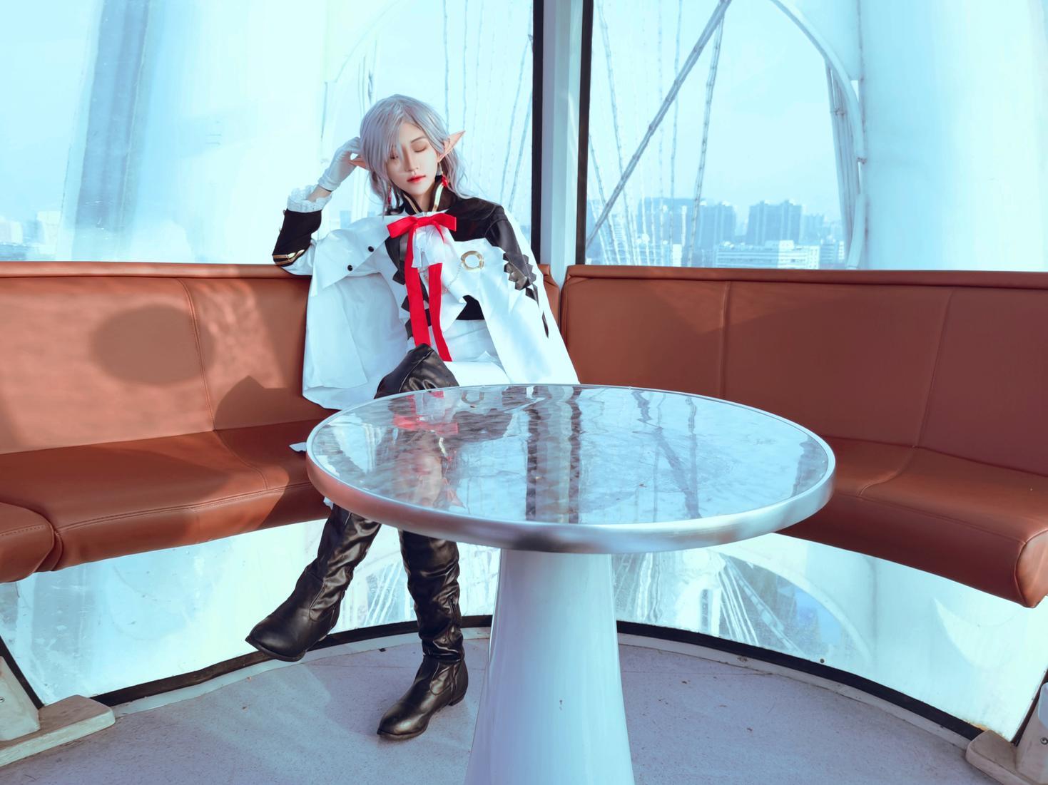 《终结的炽天使》终结的炽天使费娘cosplay【CN:君莫笑笑笑笑笑啊】-第1张