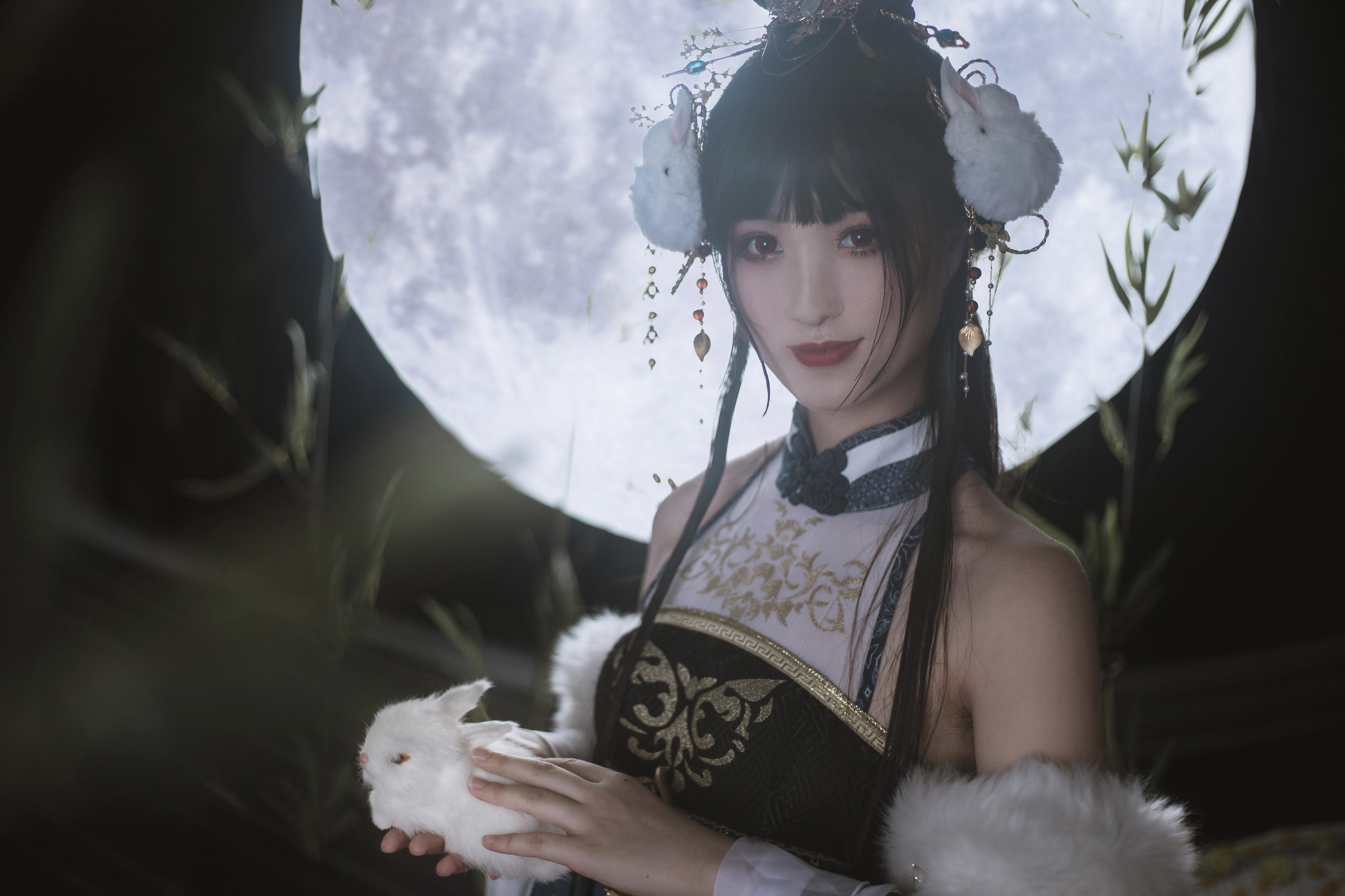 《奇迹暖暖》古风cosplay【CN:魔光海韵】-第3张