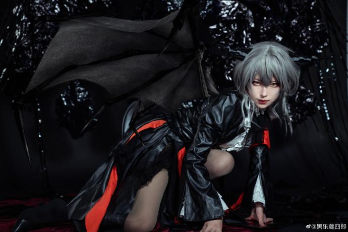 明日方舟   塔露拉 -【 Dragon Lady】-   @黑乐藤四郎 (9P)-第4张