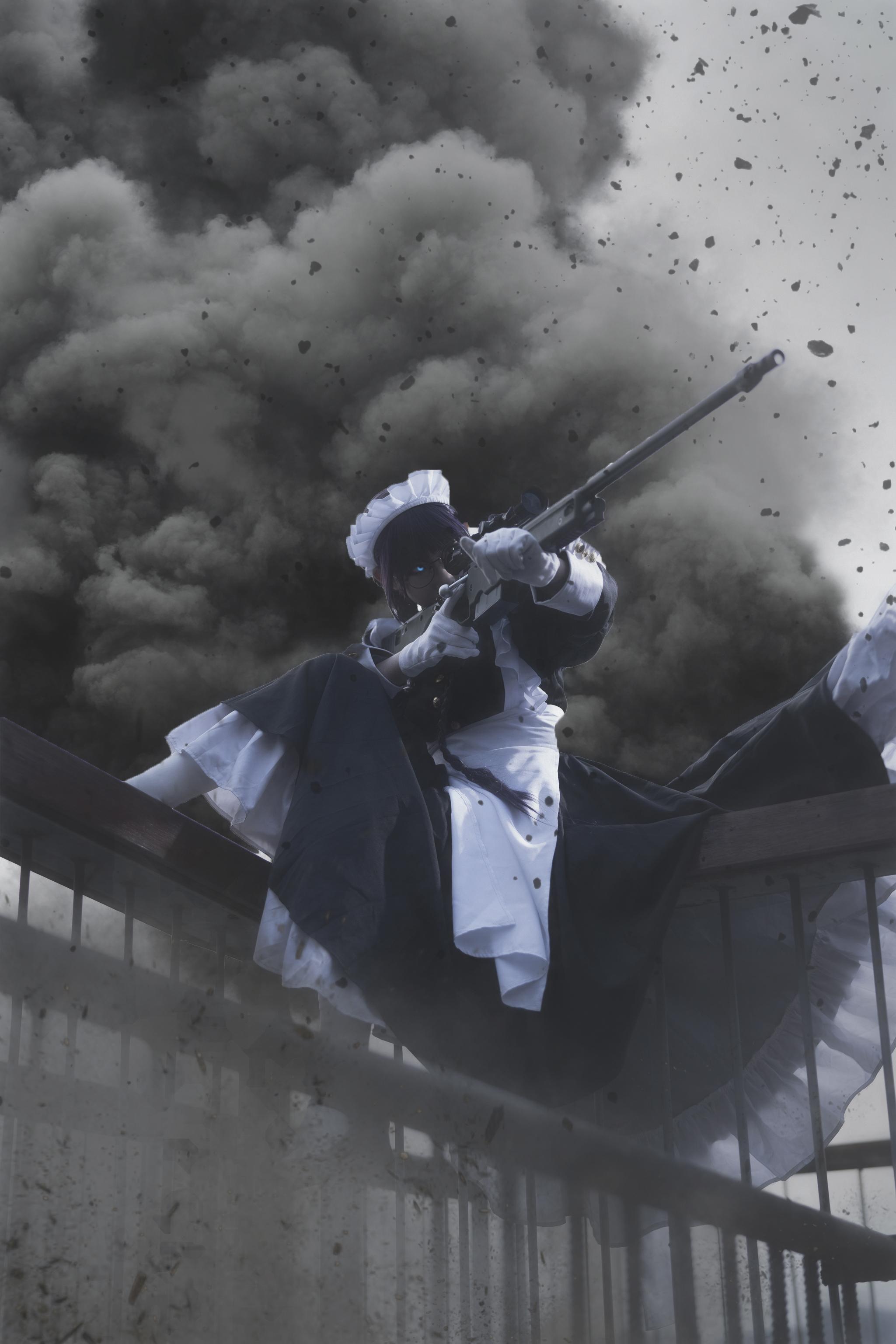 《黑礁》女仆cosplay【CN:纪沫2333】-第1张