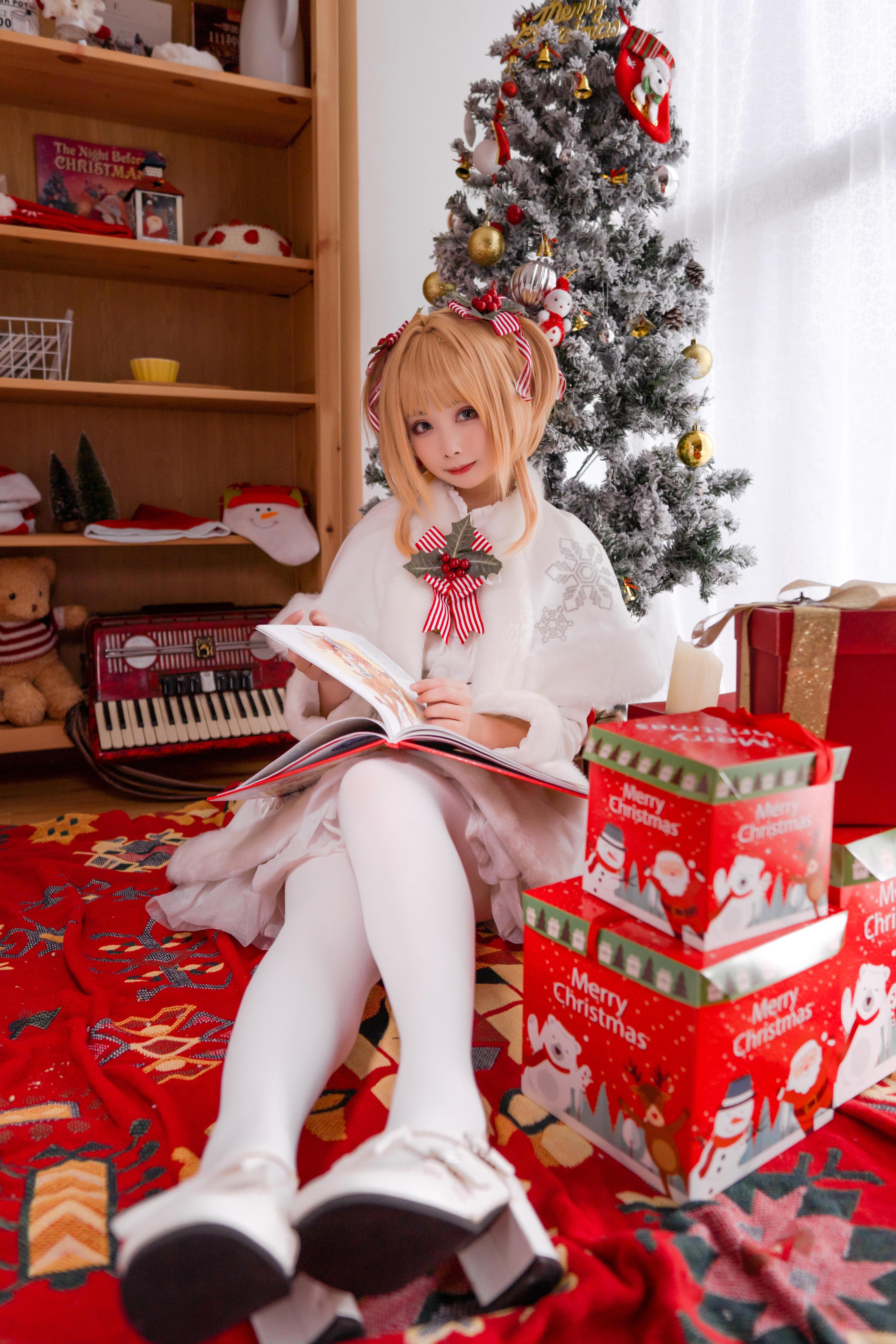《魔卡少女樱》圣诞cosplay【CN:一X夏天X一】-第9张