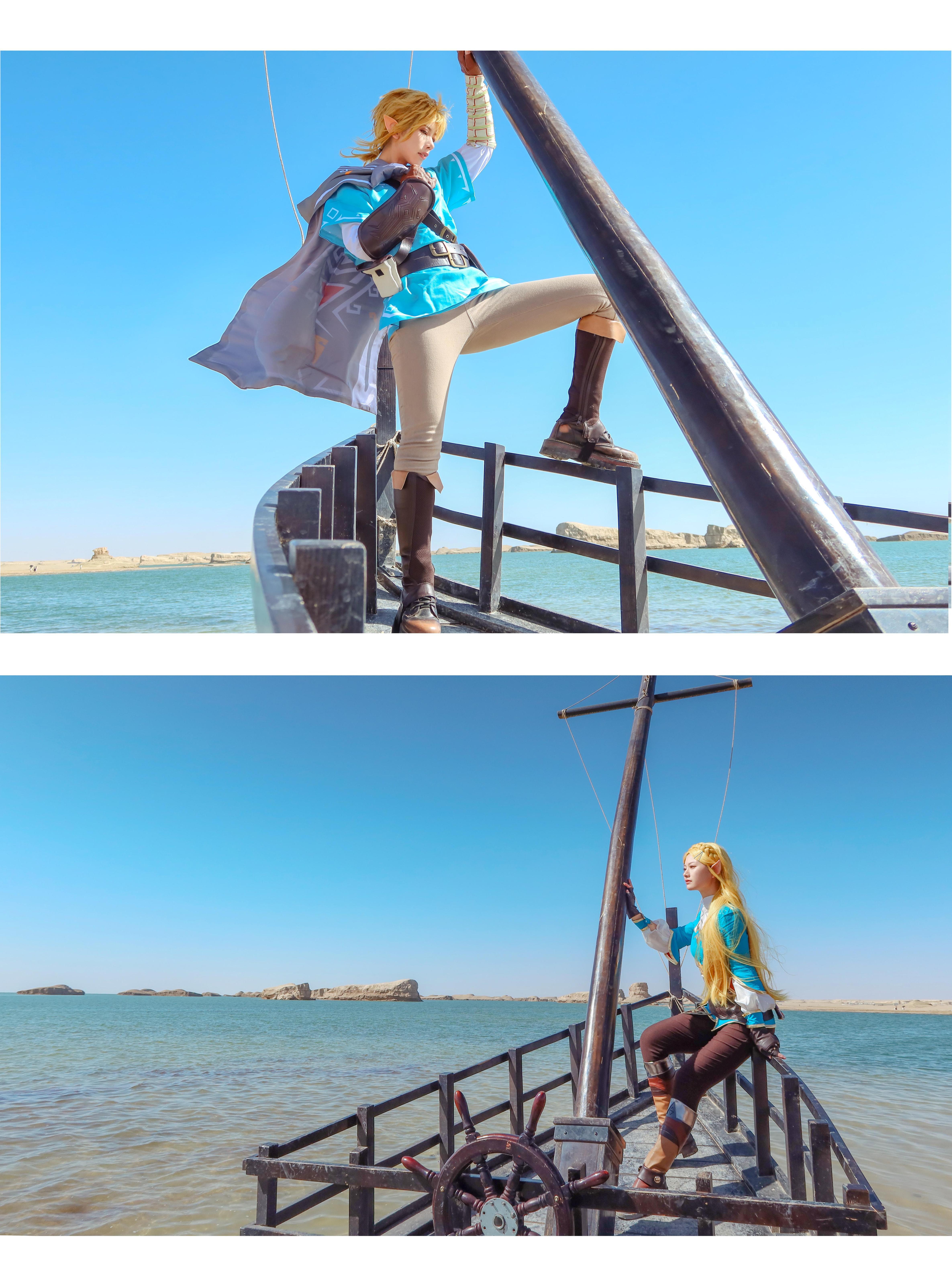 《塞尔达传说》林克cosplay【CN:無色】-第1张