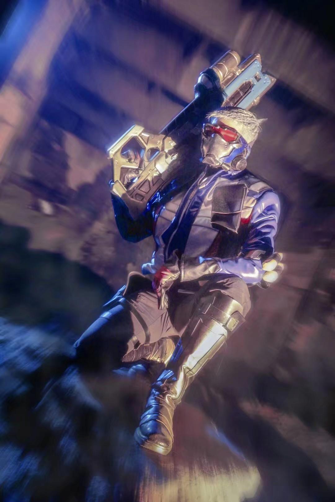 《JOJO的奇妙冒险》守望先锋cosplay【CN:瞎尸】-第5张