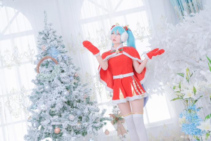 初音未来   圣诞节   @楼银Emilia (9P)-第2张