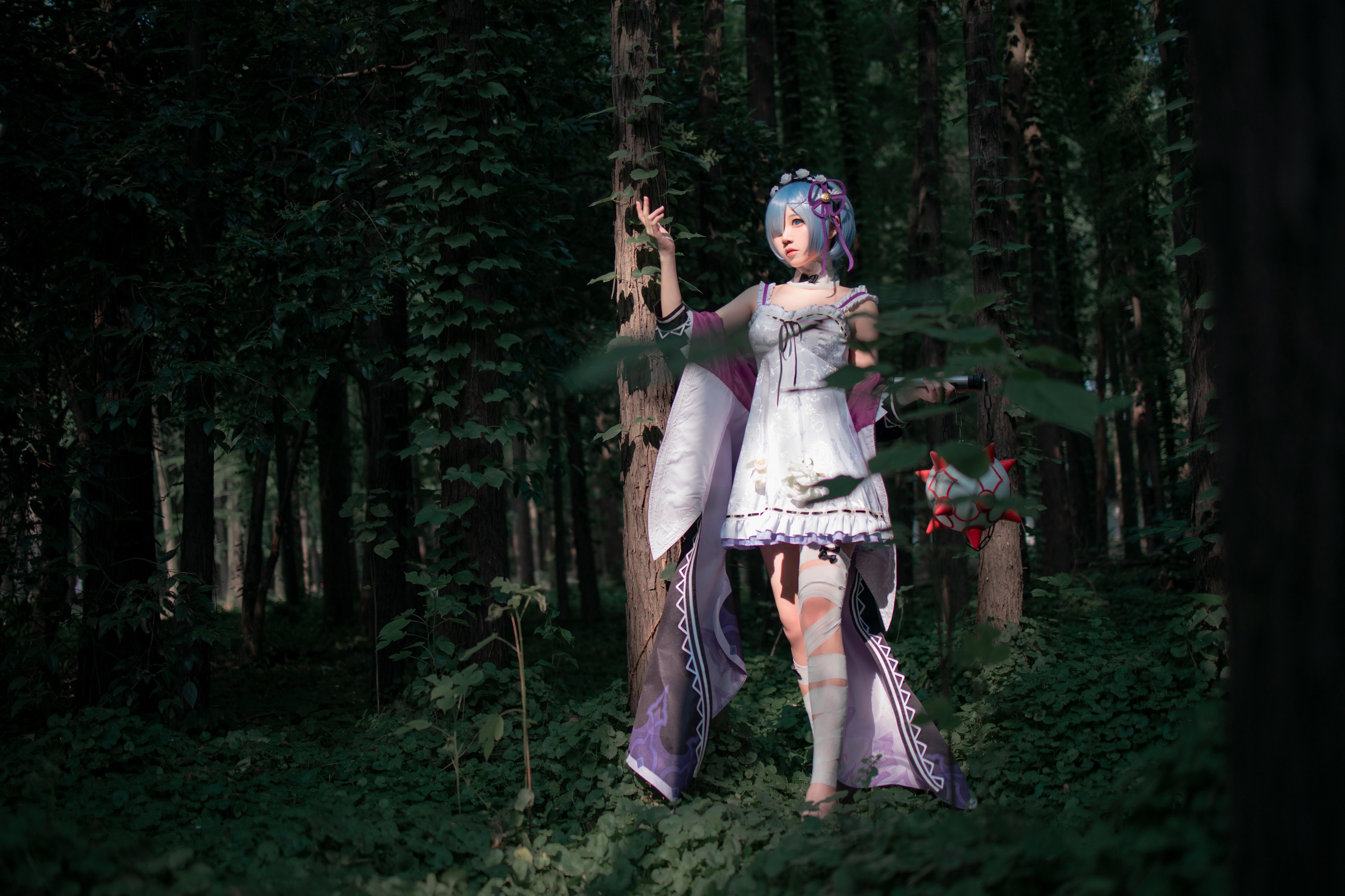 《RE:从零开始的异世界生活》蕾姆cosplay【CN:楚楚子】-第4张