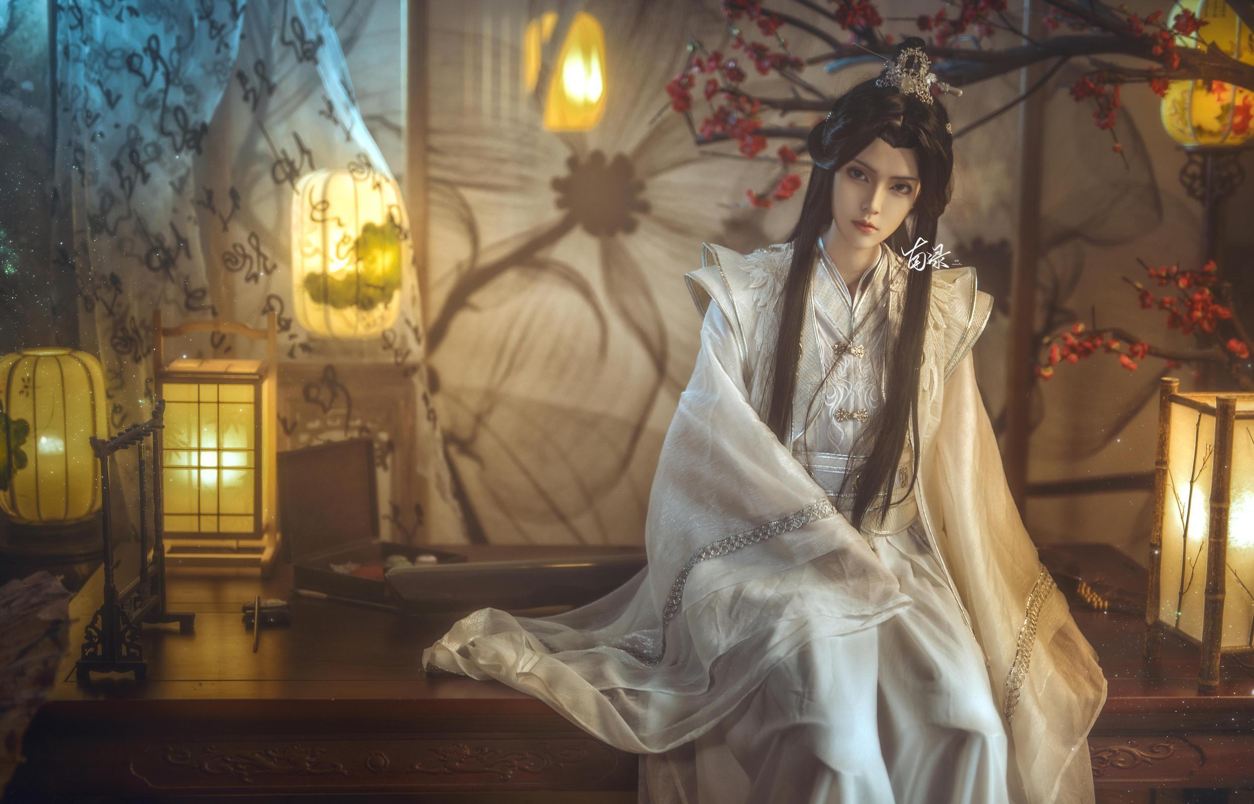 《二哈和他的白猫师尊》正片cosplay【CN:南渌Lin】-第2张