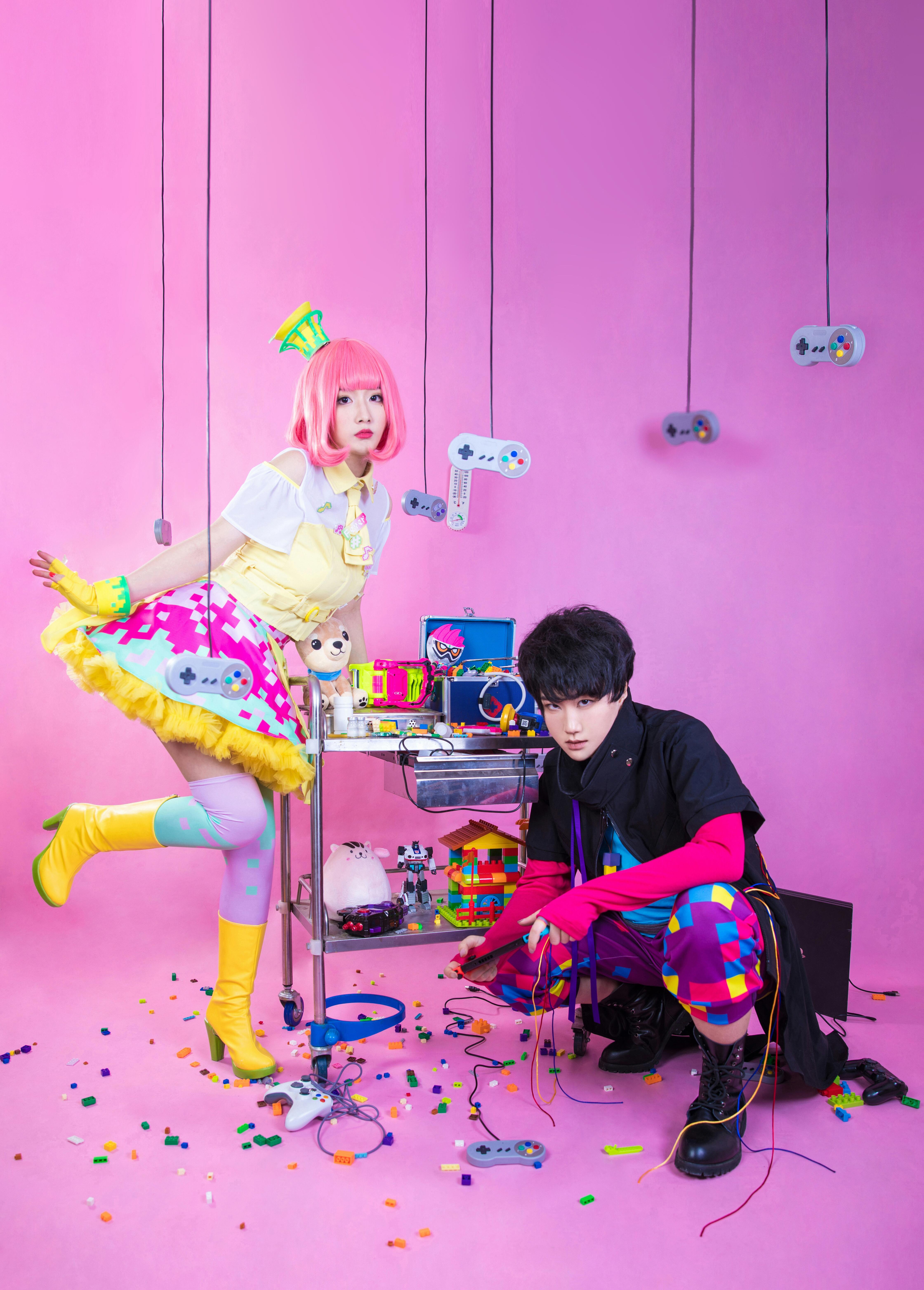 《假面骑士EX-AID》正片cosplay【CN:豆包Yunami】-第8张