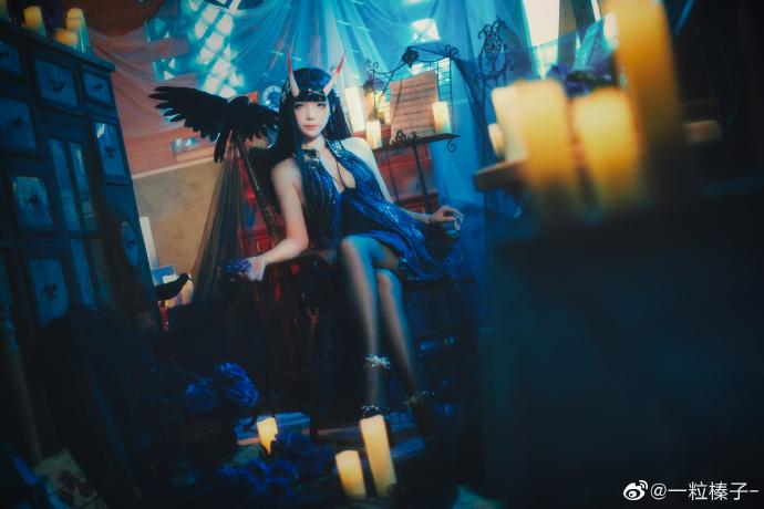 碧蓝航线   能代  礼服-夜响的绝园   @一粒榛子- (9P)-第6张