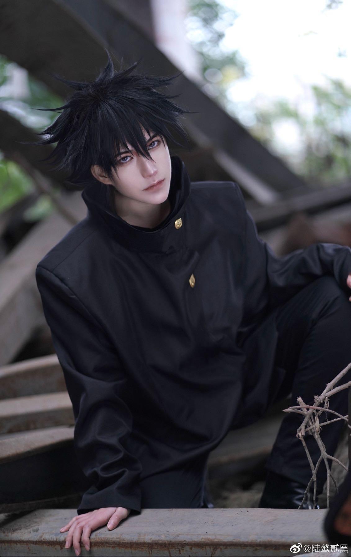 《咒术回战》陆鹫贰黑cosplay-第1张