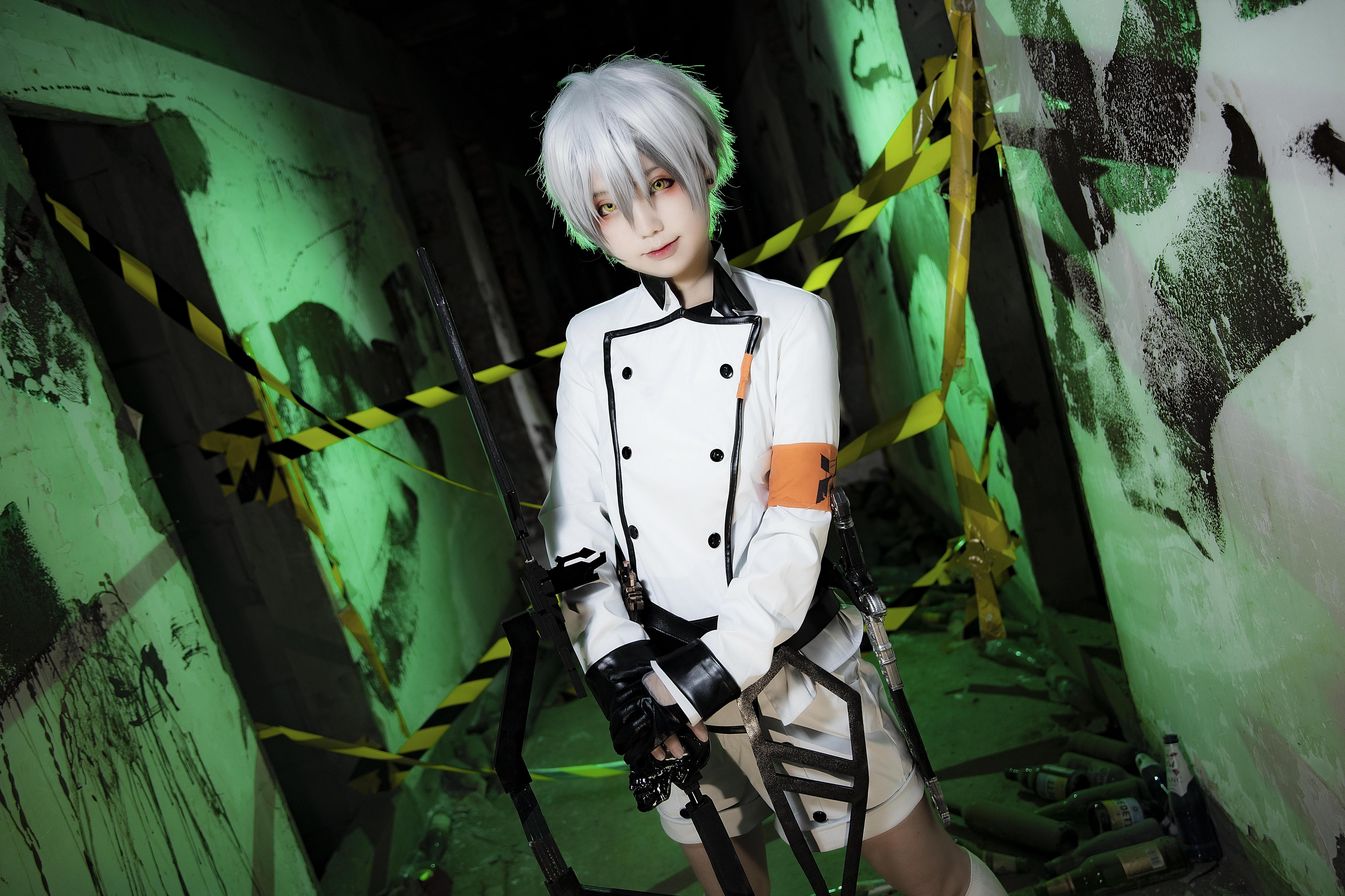 《明日方舟》正片cosplay【CN:缭绫】-第12张