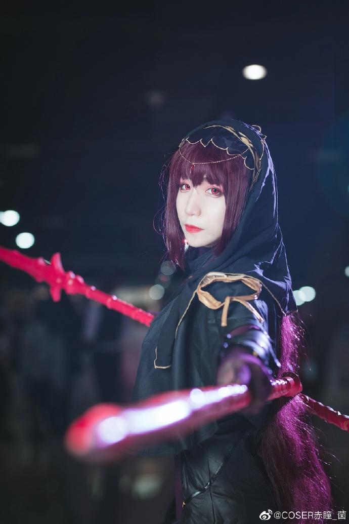 Fate/Grand Order   斯卡哈   @COSER赤瞳_菌 (9P)-第9张