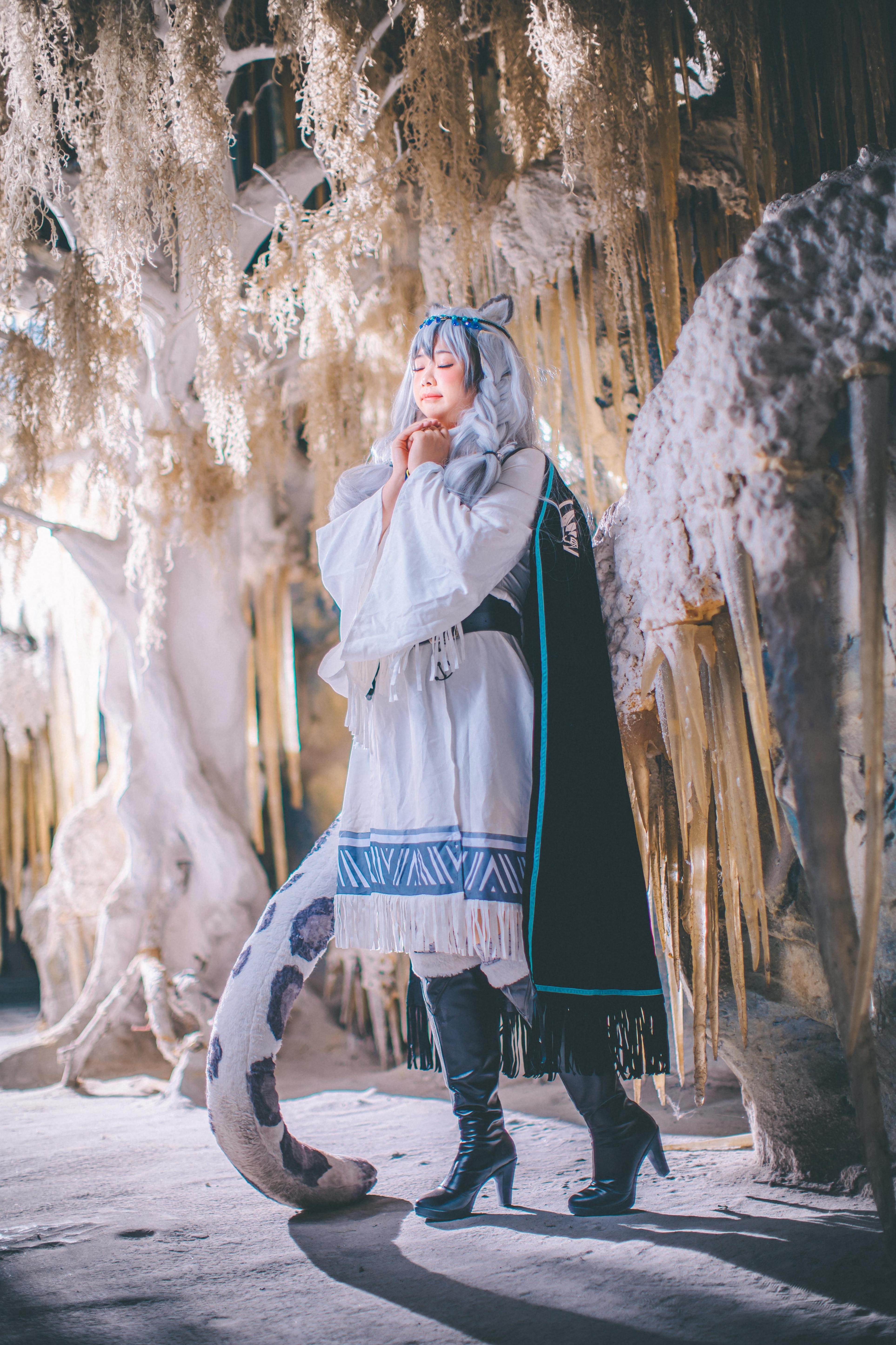 《明日方舟》明日方舟初雪cosplay【CN:爱鲤苏CHAOS】-第11张