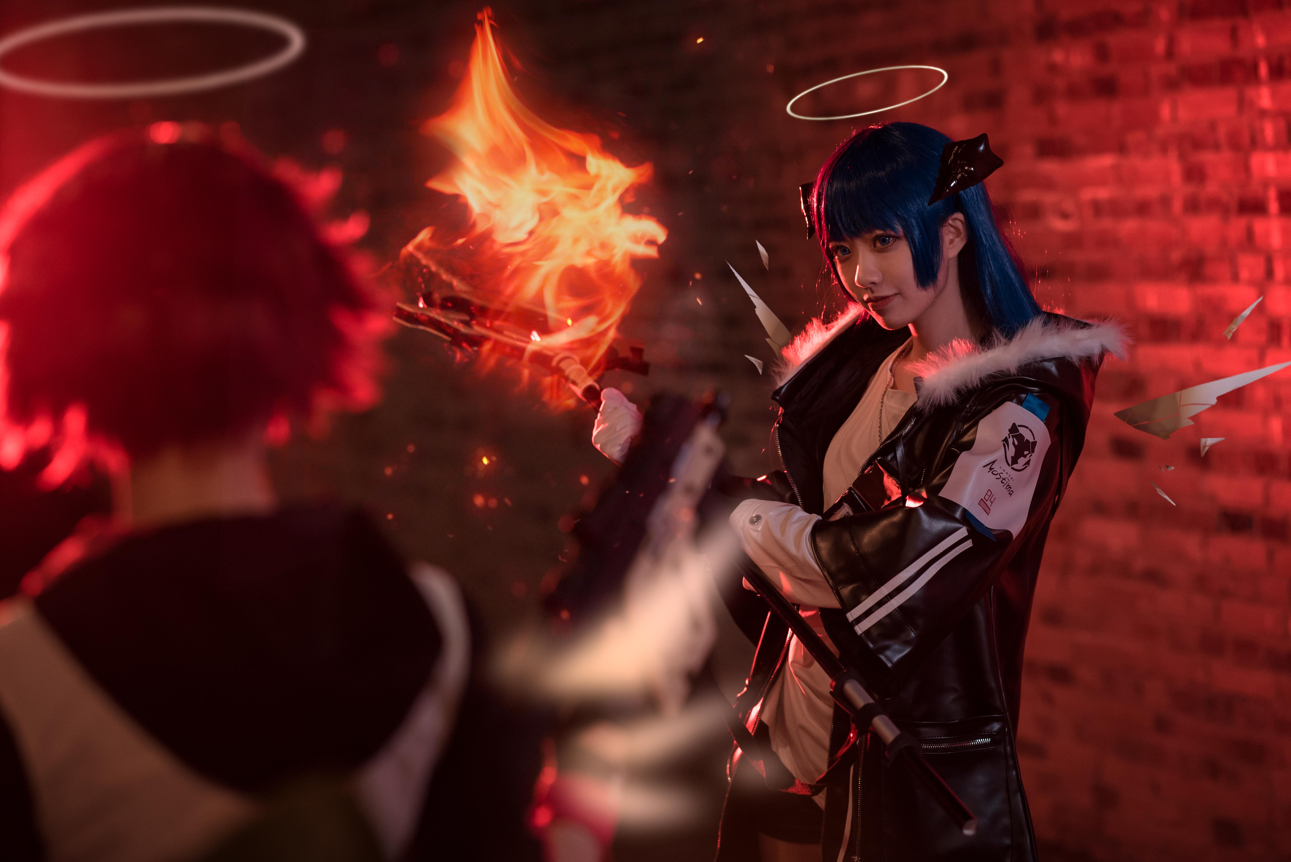 《明日方舟》法则cosplay【CN:KizunaFerin】-第32张