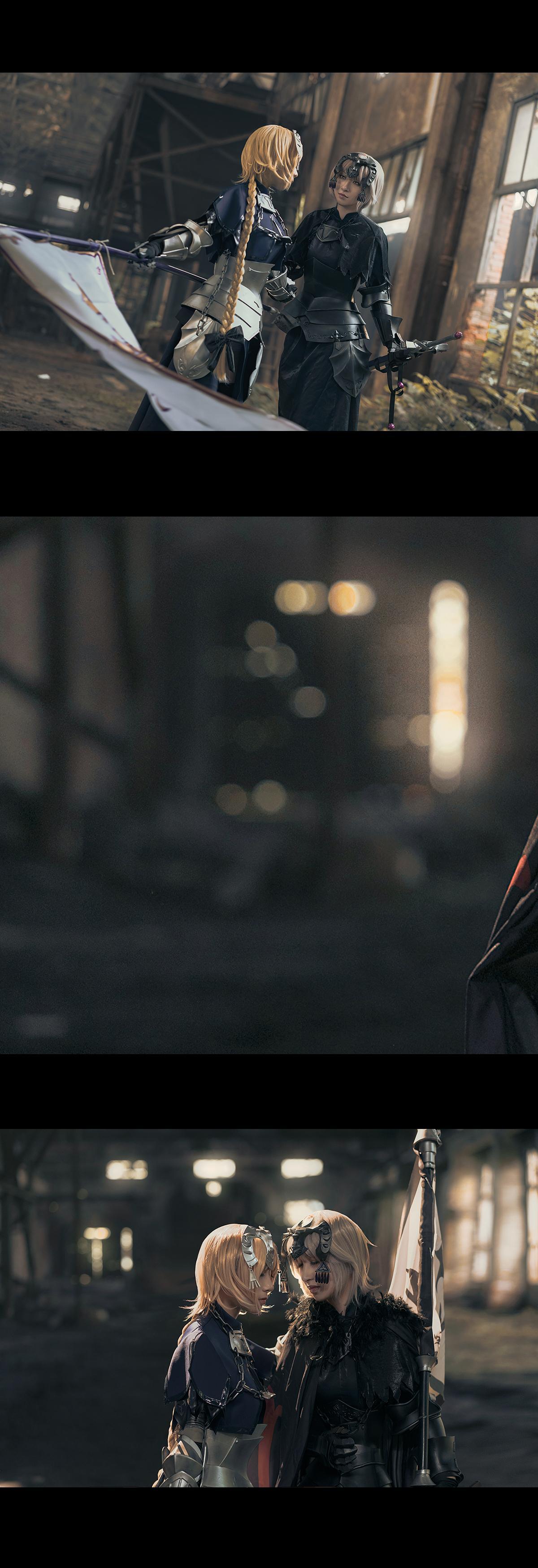 《FATE/GRAND ORDER》贞德cosplay【CN:千里看着你的脑洞说】-第7张