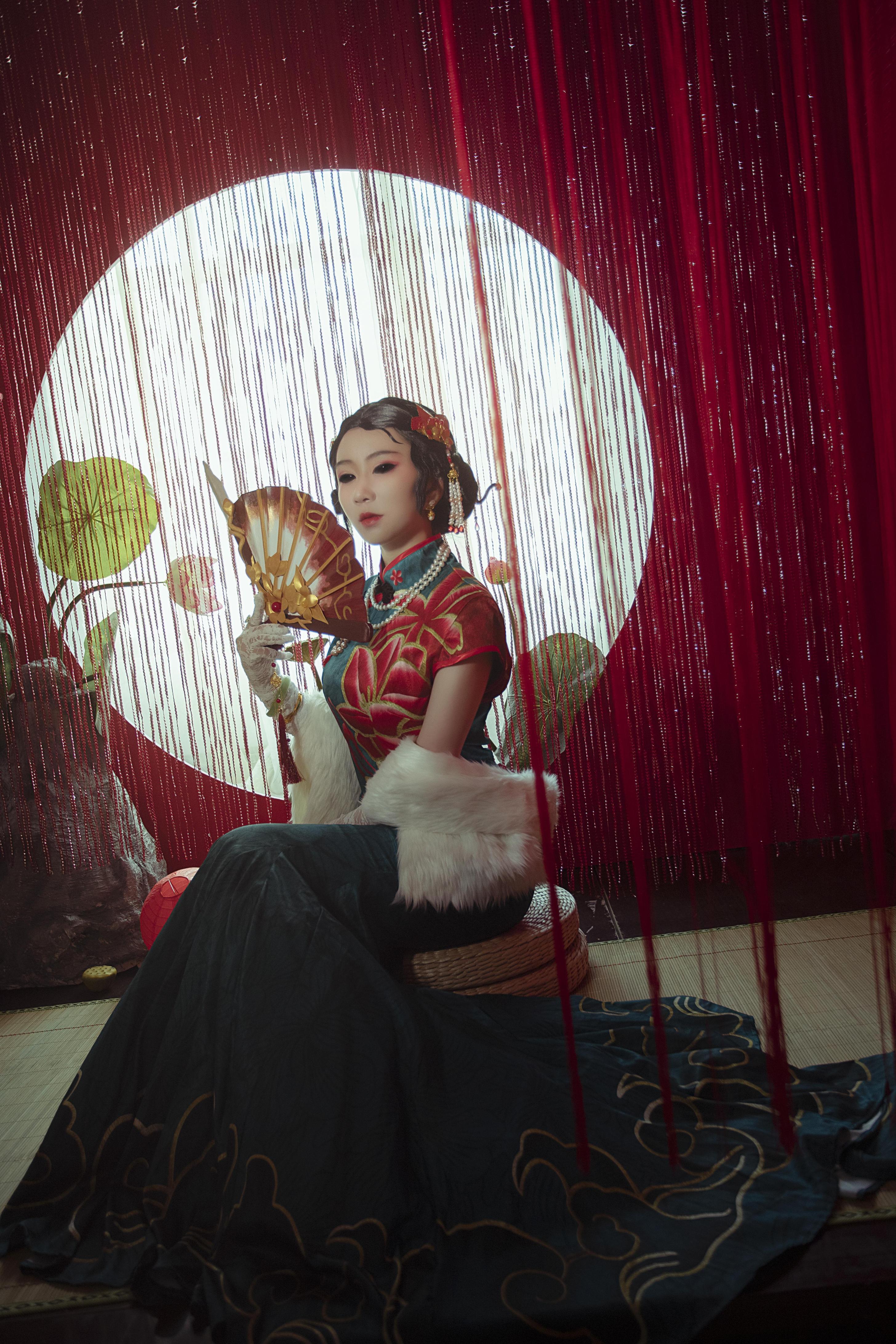 《第五人格》正片cosplay【CN:焰魔海未】-第9张