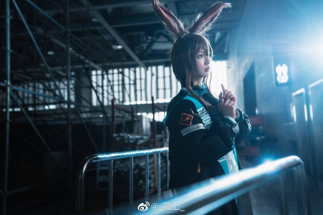《明日方舟》阿米娅Cosplay【CN:_薇上_】 (9P)-第6张