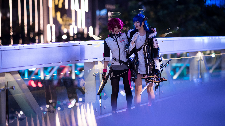 《明日方舟》法则cosplay【CN:KizunaFerin】-第48张