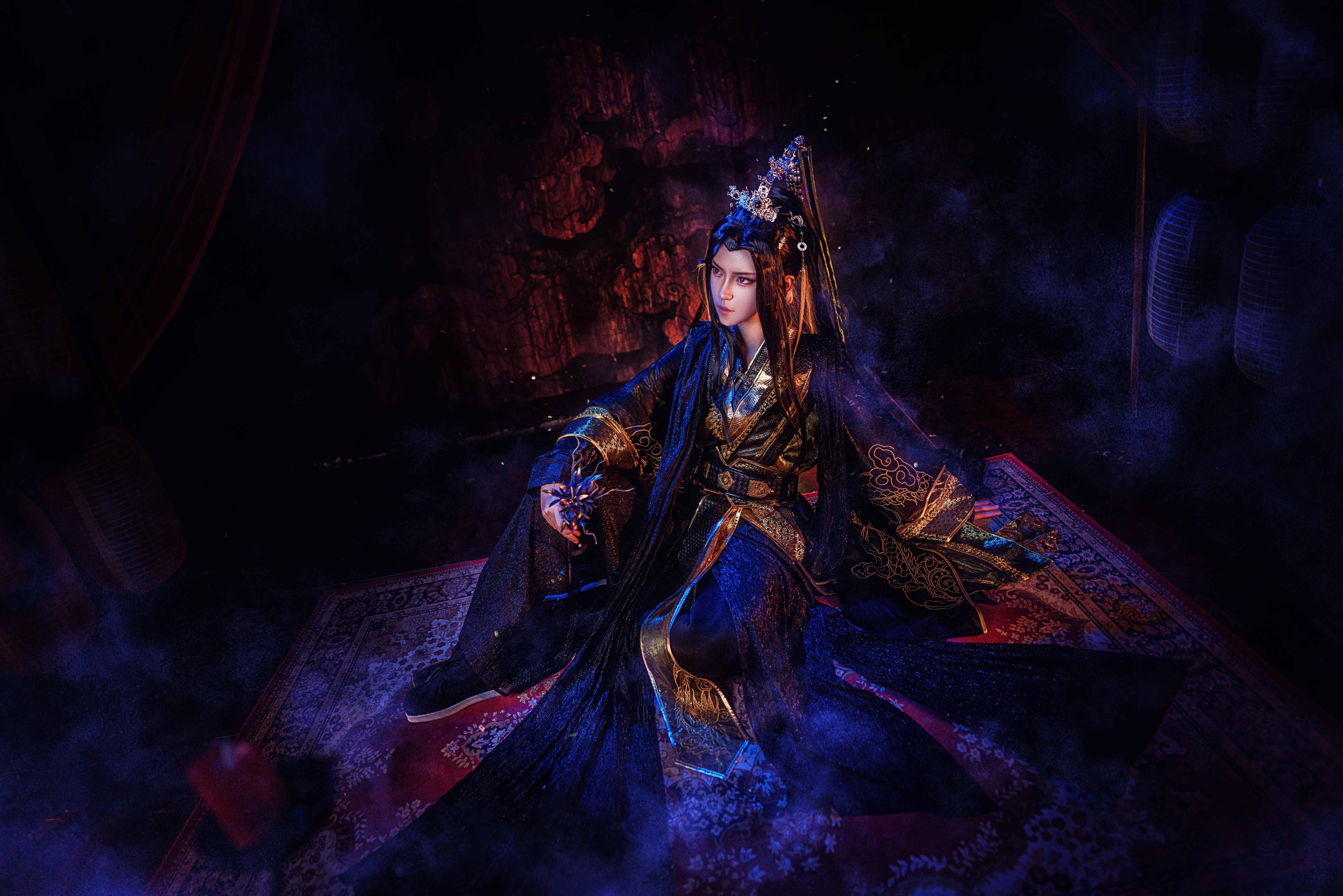 《二哈和他的白猫师尊》踏仙君cosplay【CN:江山睡醒了】-第7张