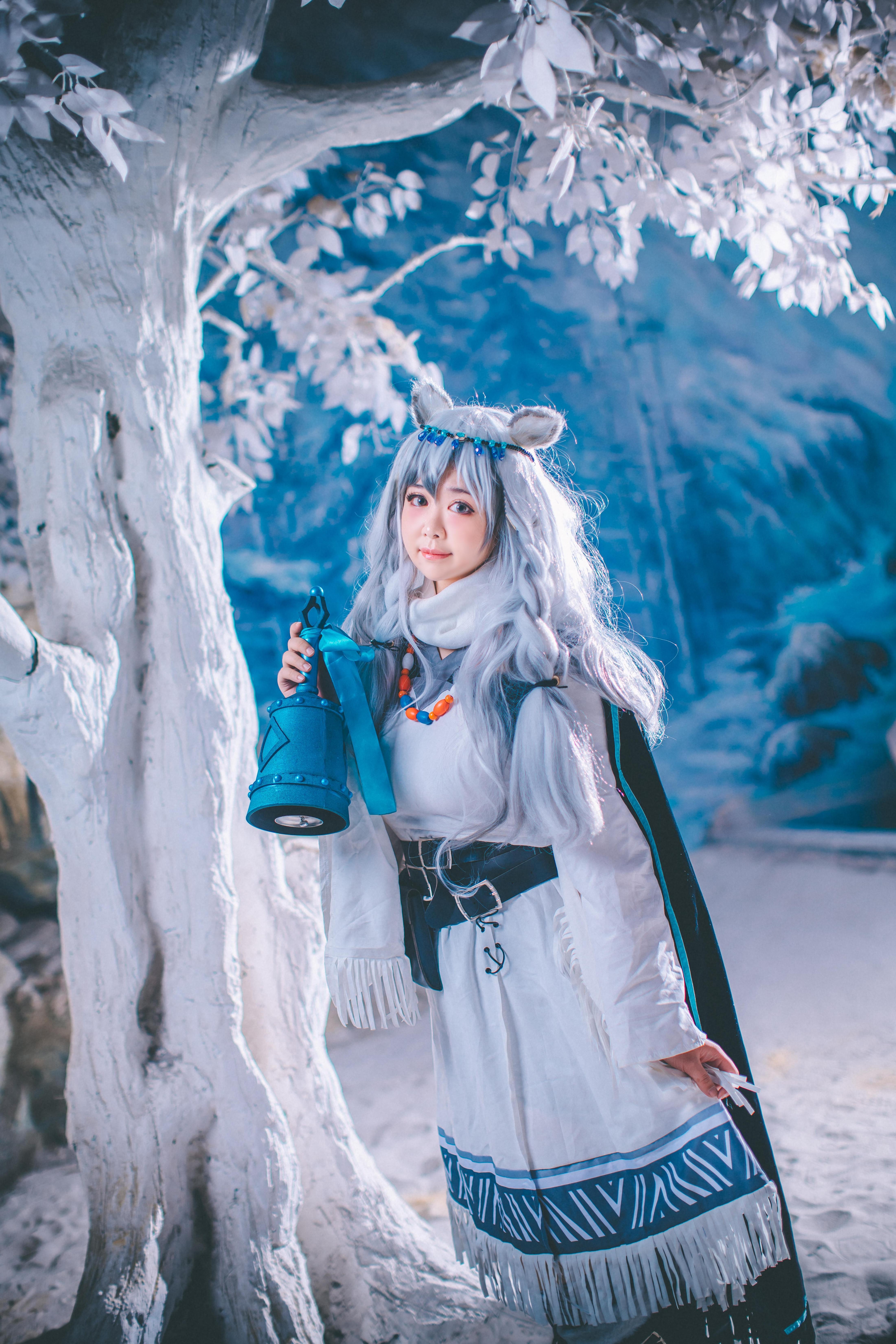 《明日方舟》明日方舟初雪cosplay【CN:爱鲤苏CHAOS】-第7张