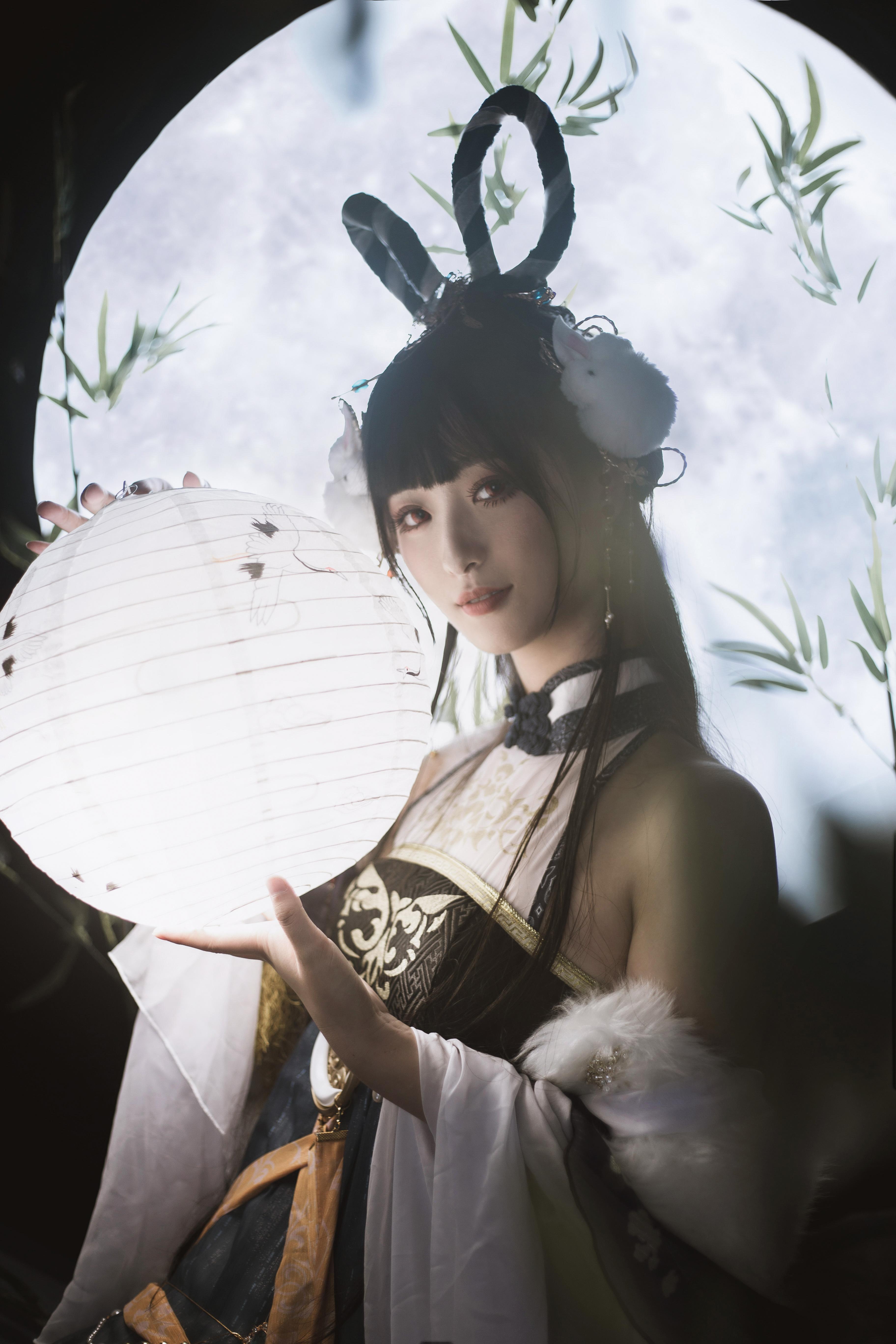 《奇迹暖暖》古风cosplay【CN:魔光海韵】-第5张