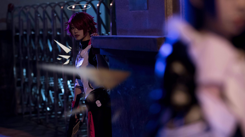 《明日方舟》法则cosplay【CN:KizunaFerin】-第25张