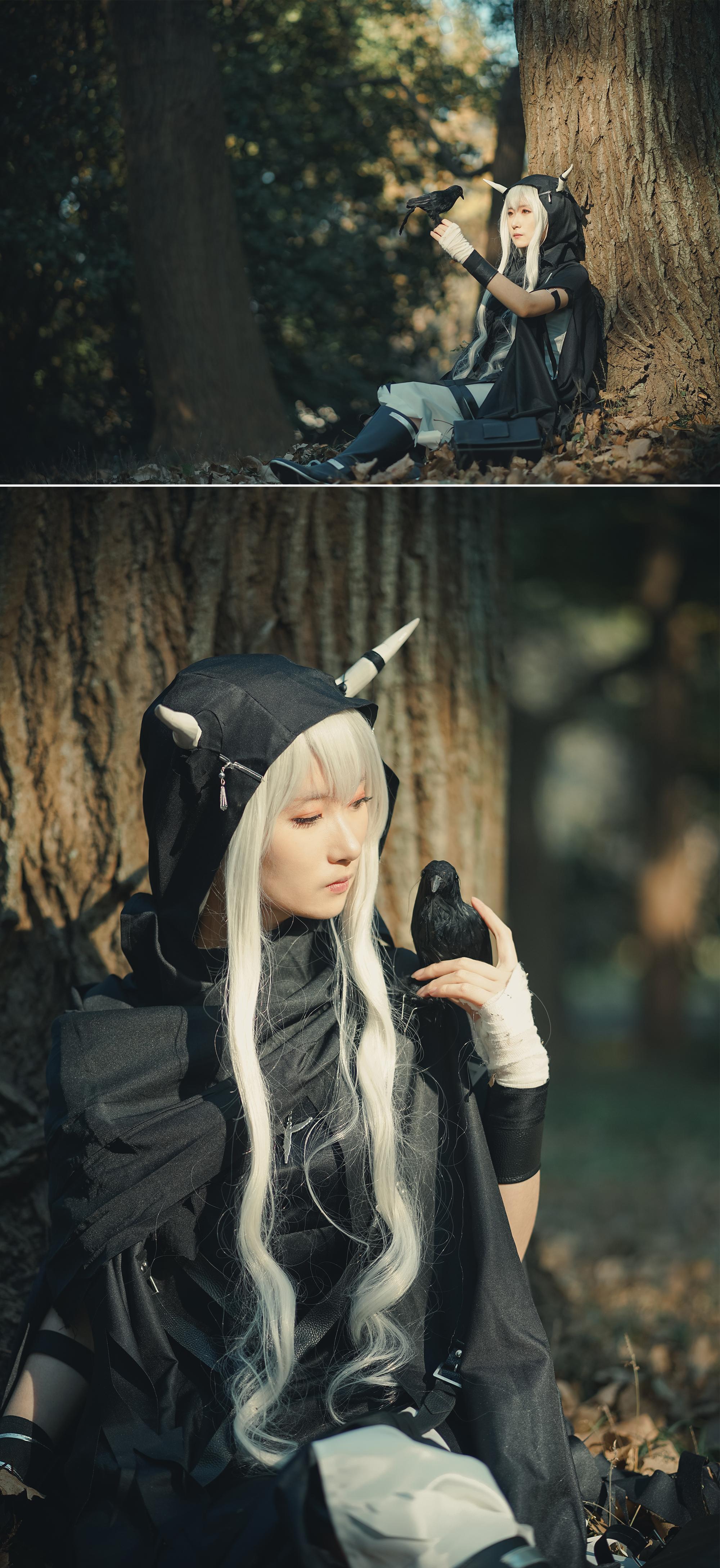 《闪灵》明日方舟闪灵cosplay【CN:Ashy咲惜】-第3张