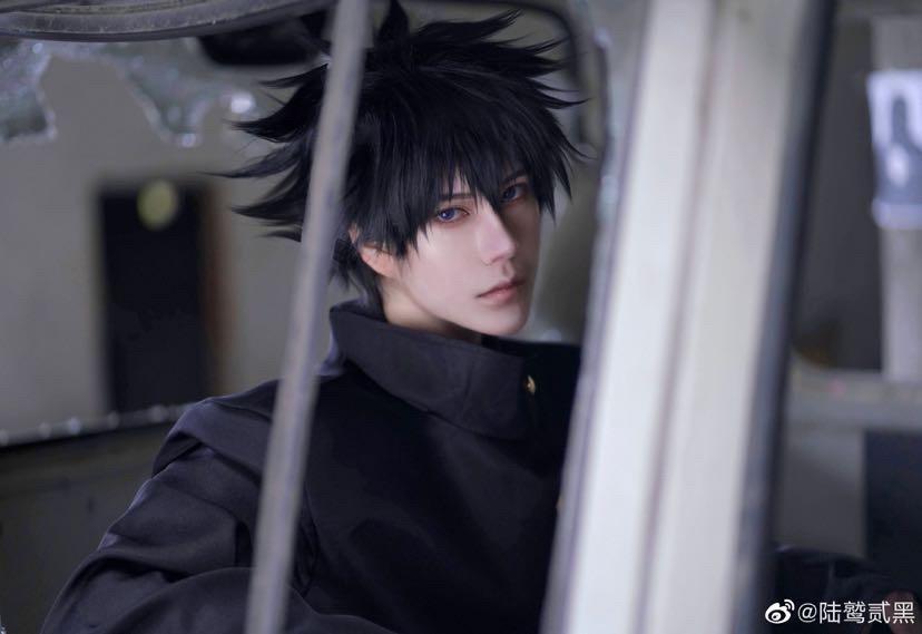 《咒术回战》陆鹫贰黑cosplay-第4张
