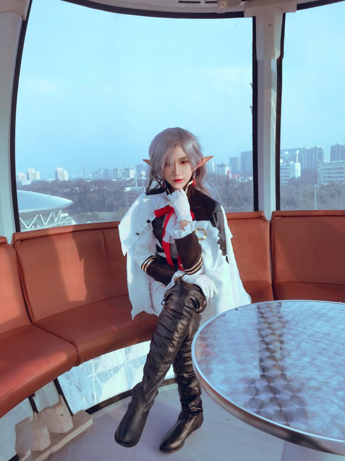 《终结的炽天使》终结的炽天使费娘cosplay【CN:君莫笑笑笑笑笑啊】-第4张